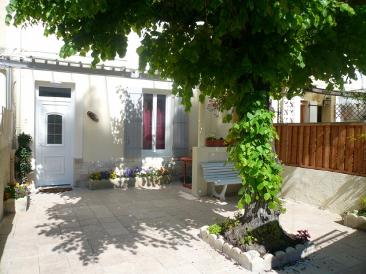 Terrasse fleurie... - Location de vacances - Avignon