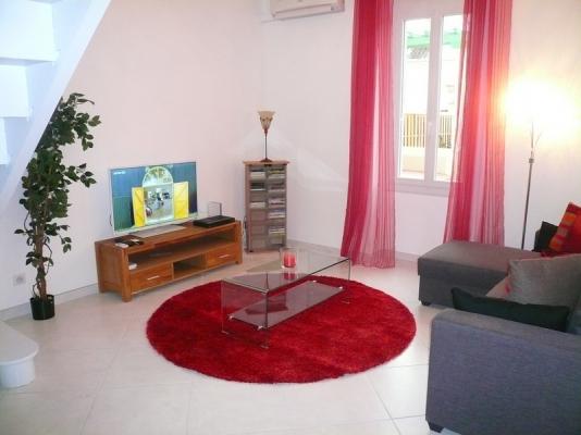Salon climatisé... - Location de vacances - Avignon
