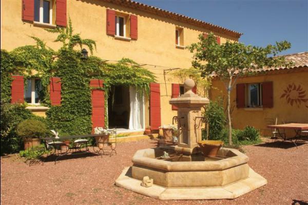 patio au doux bruit de la fontaine  - Chambre d'hôtes - Gargas
