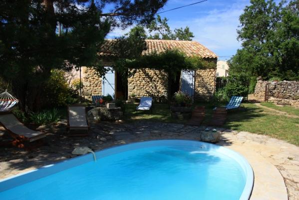 la piscine - Chambre d'hôtes - Viens