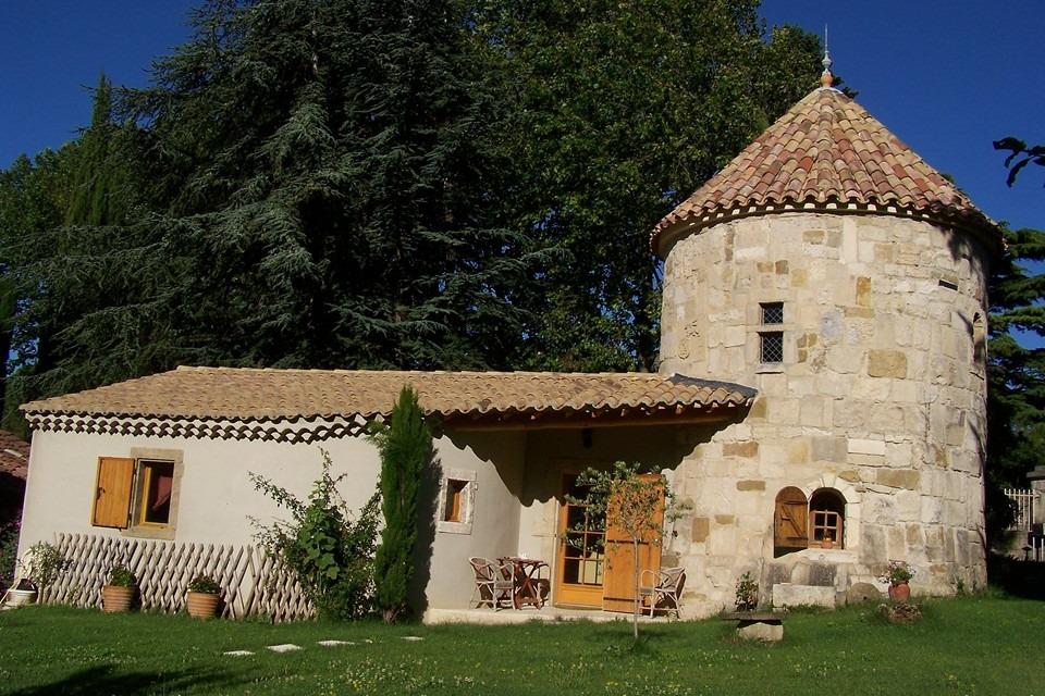 La suite de la tour - Chambre d'hôtes - Visan