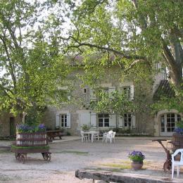 Cour du Mas  - Chambre d'hôtes - Châteauneuf-de-Gadagne