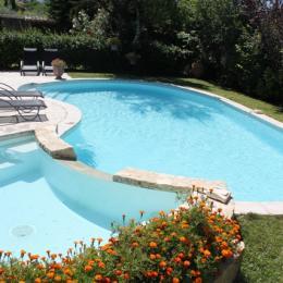 Piscine et Jacuzzi - Chambre d'hôte - Saint-Didier