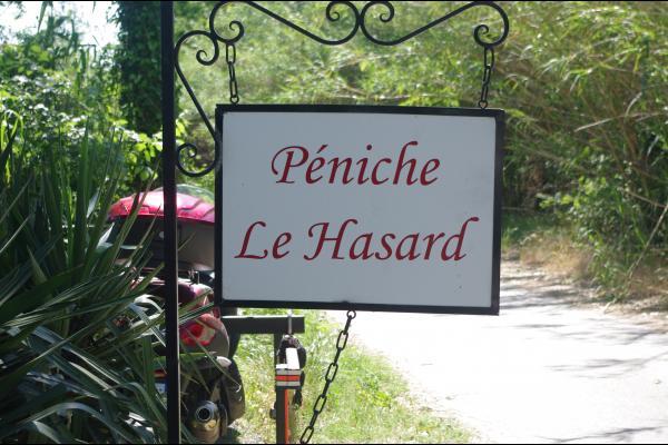 Entrée péniche - Chambre d'hôtes - Avignon