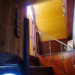 Escalier chambre du Capitaine - Chambre d'hôtes - Avignon