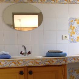 Salle de bain - Chambre d'hôtes - Lauris