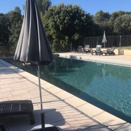 Le gîte est entouré de vignes : calme et vue panoramique - Location de vacances - Vaison-la-Romaine