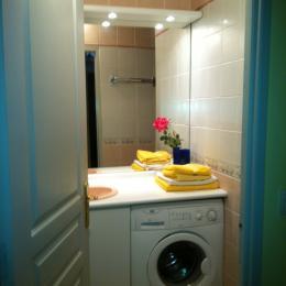 salle de douche - Location de vacances - Saint-Didier