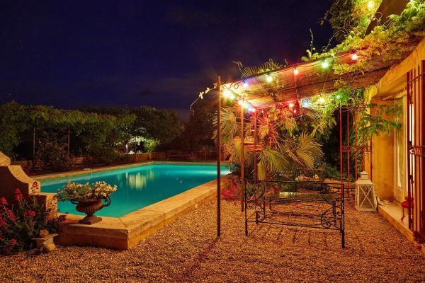 terrasse du studio - Location de vacances - Gargas