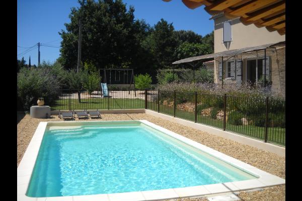 piscine sécurisée - Location de vacances - Vaison-la-Romaine