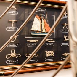 Esprit bateau de la chambre Calanques - Chambre d'hôtes - Lagnes