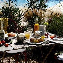 Petit déjeuner - Chambre d'hôtes - Sarrians