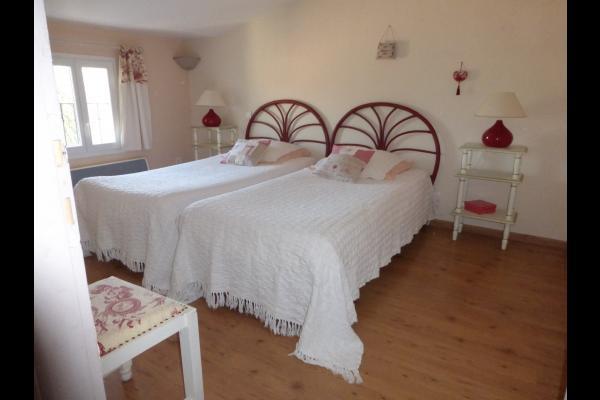 Suite NINON - 2ème chambre  - Chambre d'hôtes - Villes-sur-Auzon
