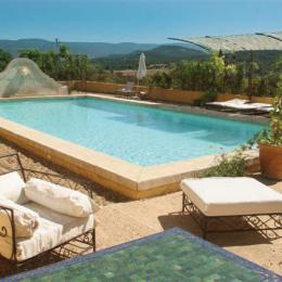 piscine 6x12 m avec vue et pool-house avec cuisine d'été - Chambre d'hôtes - Gargas
