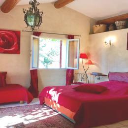 chambre Rouge - Chambre d'hôtes - Gargas