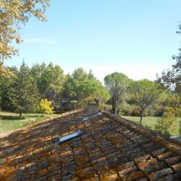 Vue de la chambre Ventoux - Chambre d'hôtes - Châteauneuf-de-Gadagne