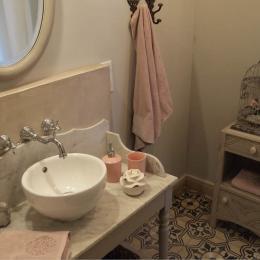 Salle d'eau Muscadine - Chambre d'hôtes - Châteauneuf-de-Gadagne