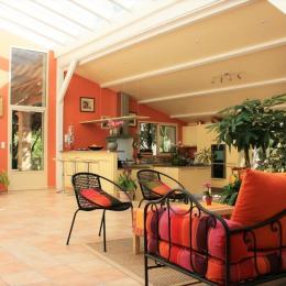 patio - Chambre d'hôtes - Piolenc