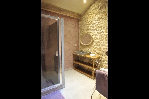 Salle de bain - Chambre d'hôtes - Sarrians