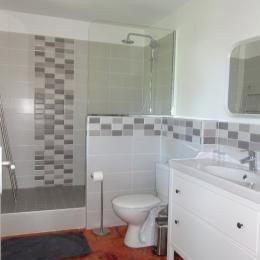 Salle de bain Chambre Poussin - Chambre d'hôtes - Avignon Montfavet