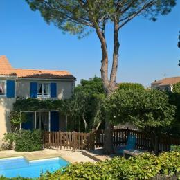 La Cigale Bleue, Maison de vacances indépendante avec piscine privée et sécurisée par une clôture et une alarme.  - Location de vacances - Vedène