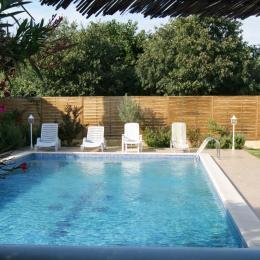 La piscine - Location de vacances - Lapalud