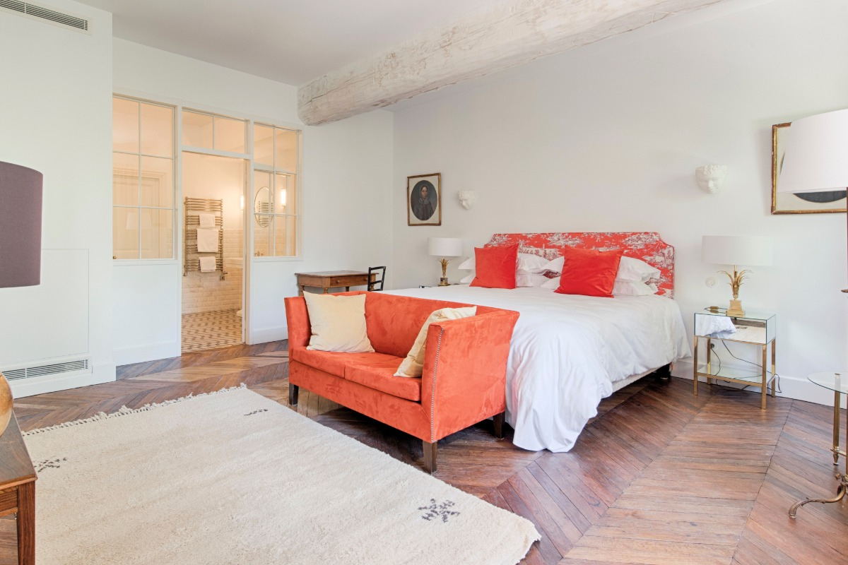 Le clos saluces la chambre capucine chambres d 39 h te avignon cl vacances - Chambres d hotes avignon ...