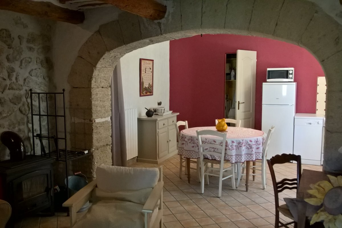 Salon  - Location de vacances - Cheval-Blanc