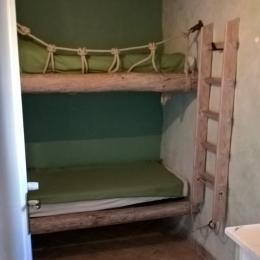 Chambre alcove - Location de vacances - Cheval-Blanc