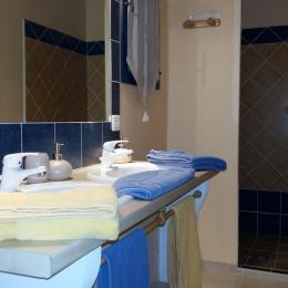 Salle d'eau Les Soleils - Chambre d'hôtes - Gordes
