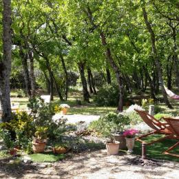 Le jardin - Chambre d'hôtes - Gordes