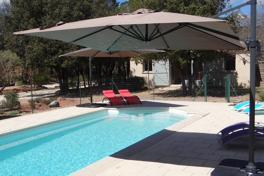 La piscine - Location de vacances - Gordes