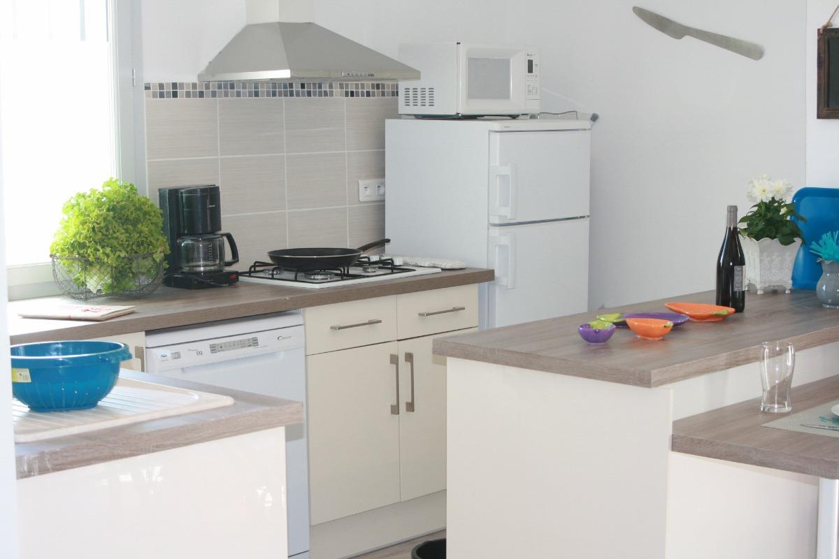 cuisine - Location de vacances - Cabrières-d'Avignon