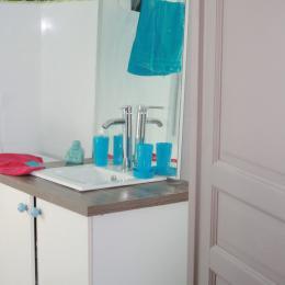 salle de bain - Location de vacances - Cabrières-d'Avignon