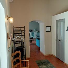 La terrasse sud - Location de vacances - Carpentras