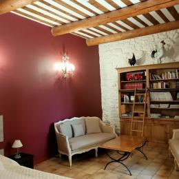 Le salon de la Bastide - Location de vacances - Carpentras