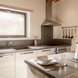 Le Pin de Barail - Espace cuisine - Location de vacances - Oppède