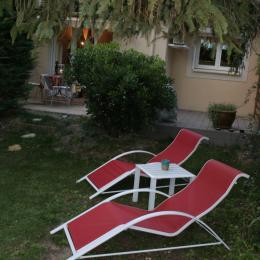 jardin - Location de vacances - Saint-Saturnin-lès-Avignon