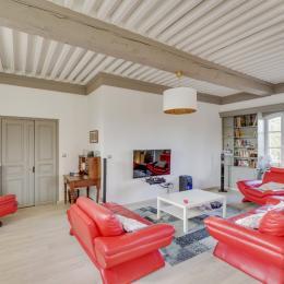Le grand salon - Location de vacances - Le Pontet