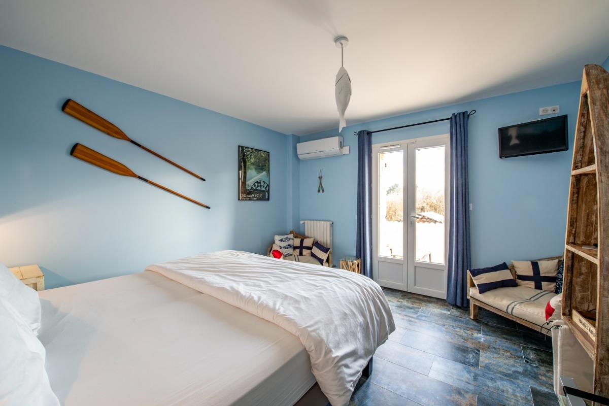 Terrasse chambre Le Partage des Eaux - Chambre d'hôtes - L'Isle-sur-la-Sorgue