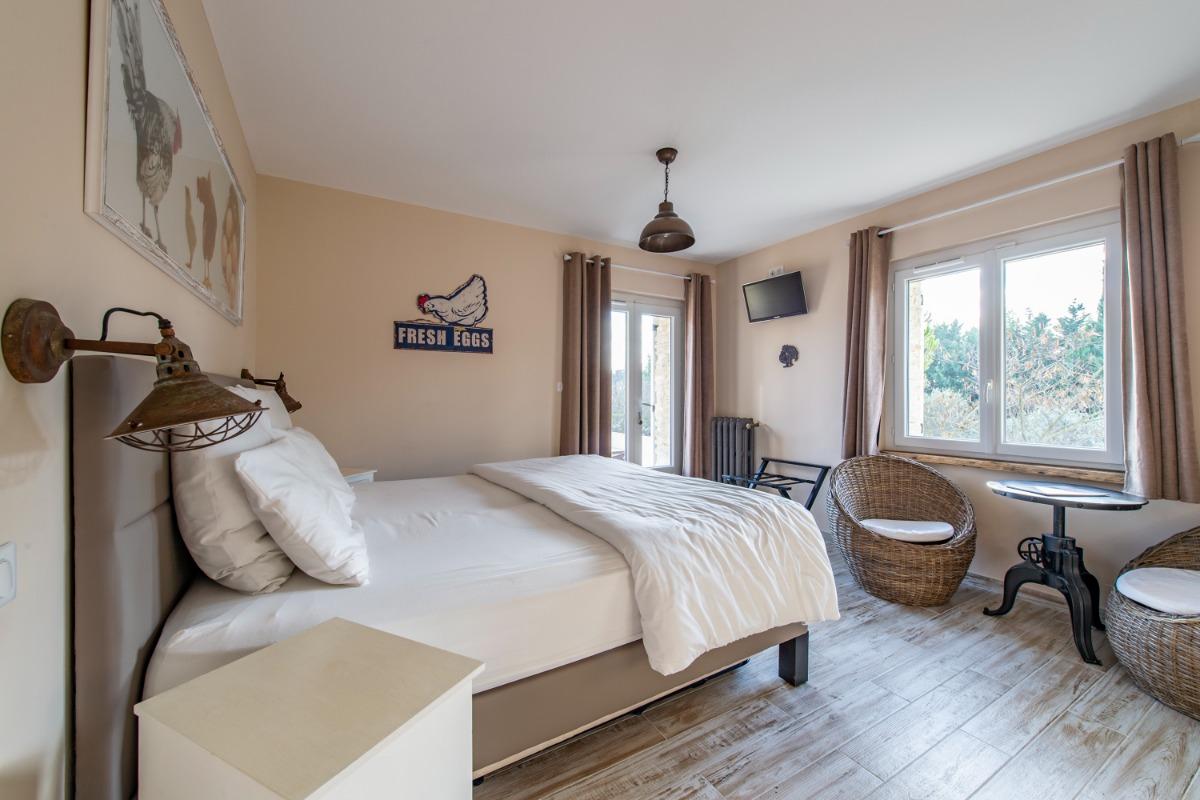 La piscine - Chambre d'hôtes - L'Isle-sur-la-Sorgue