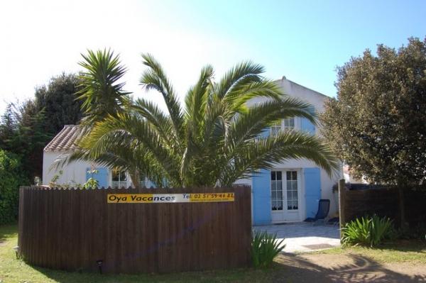 Entrée de la villa Saint-Amand - Location de vacances - Ile d'Yeu