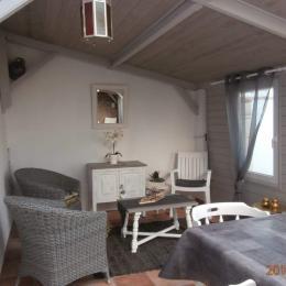vu sur le séjour et la cuisine - Location de vacances - La Guérinière