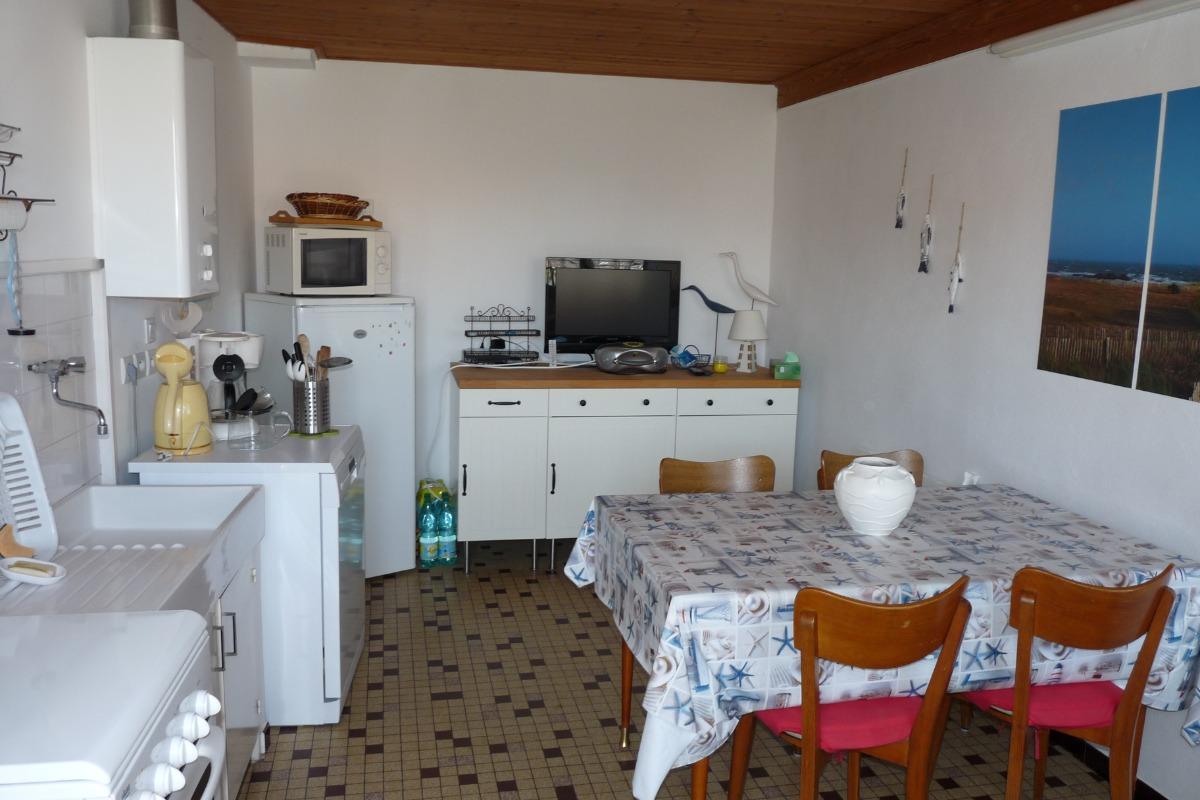 Pièce de vie - Location de vacances - Saint Hilaire de Riez