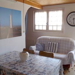 Coin salon - Location de vacances - Saint Hilaire de Riez