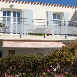 Balcon de l'appartement l'océan - Location de vacances - Ile d'Yeu