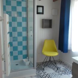 la salle de douche - Location de vacances - Les Lucs sur Boulogne
