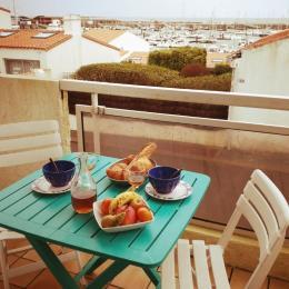 Terrasse vue campagne - Location de vacances - Noirmoutier en l'Île