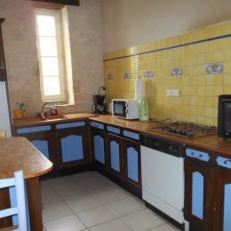 La cuisine - Location de vacances - Vouvant