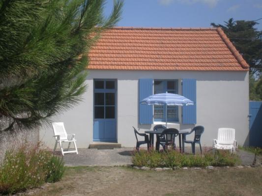 Façade sud côté jardin - Location de vacances - Noirmoutier en l'Île